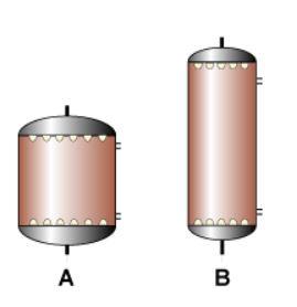 محاسبه ابعاد مخازن رزین