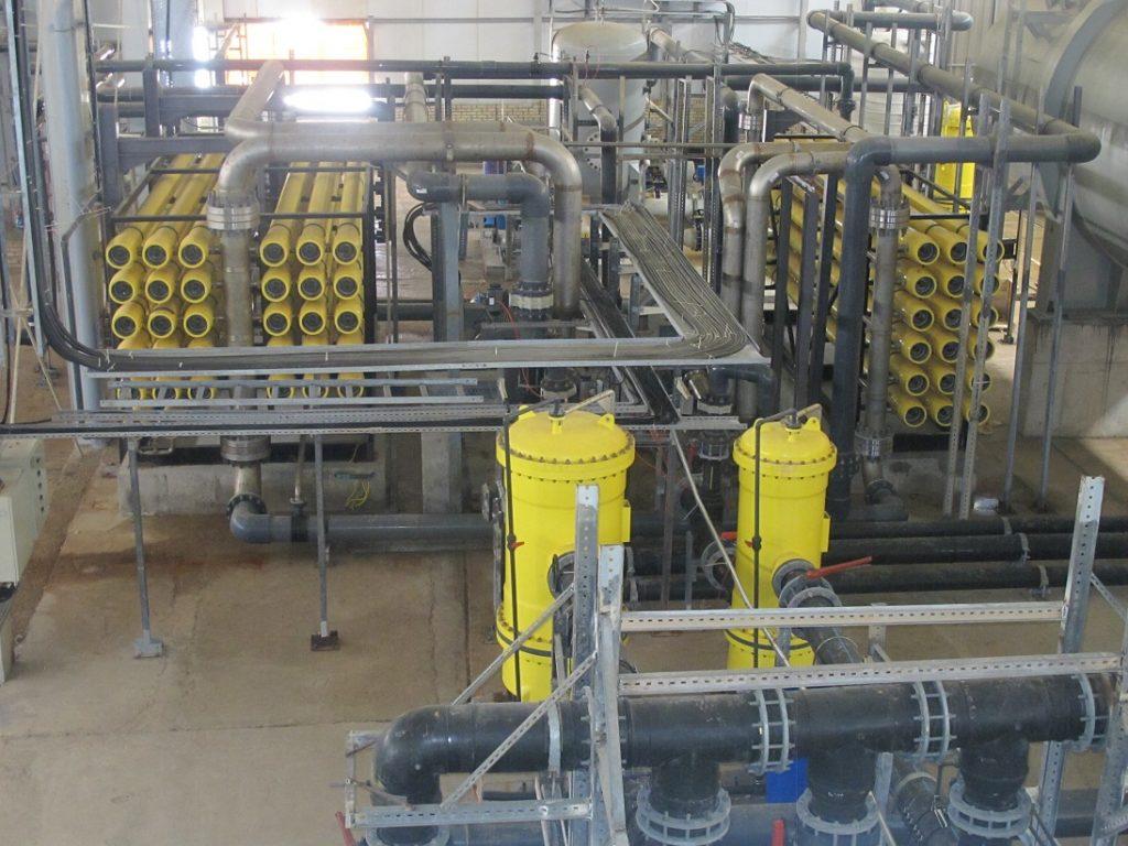نمک زدایی از آب با فرایند RO